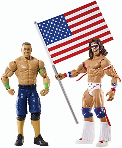 WWE Battle Pack Serie # 31–John Cena gegen The Ultimate Warrior Action Figur (2er Pack)