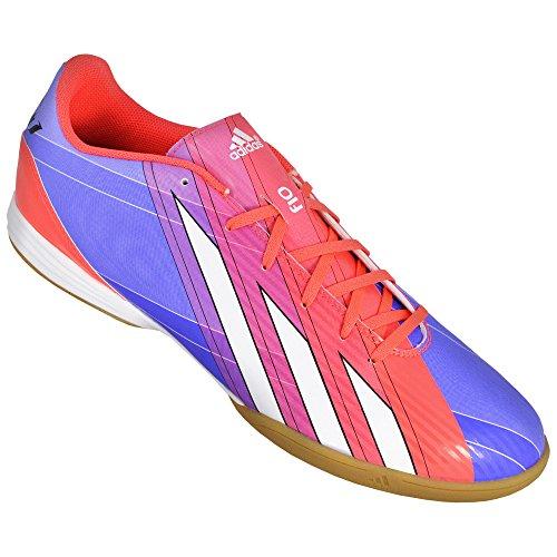 adidas, Scarpe indoor multisport uomo Azzuro-Rosso