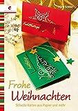 Frohe Weihnachten: Stilvolle Karten aus Papier und mehr