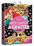 DISNEY PRINCESSES - Les Ateliers Disney - pochette - Cartes à gratter dorées