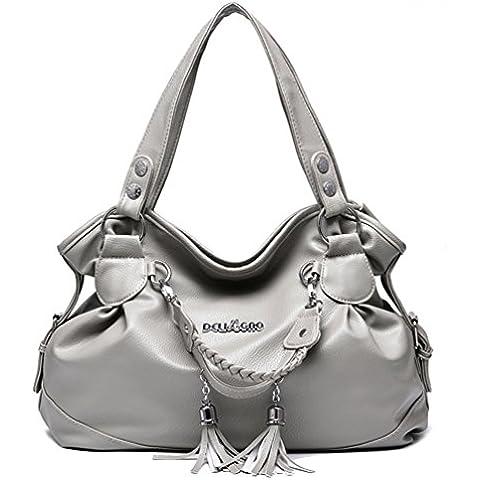Swesy PU Donne nuovo modo della borsa a mano sacchetto