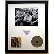 JETHRO TULL/Darstellung mit Foto und CD   Limited Edition des Albums AQUALUNG