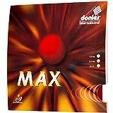Donier Gomma Max | Gomma per Racchette da Ping Pong o da Paddle Made in EU | AltaVelocità, Controllo Eccellente | per Personalizzare Le Racchette e Paddle (Rosso, 2,0 mm)