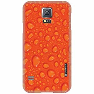Printland Back Cover For Samsung Galaxy S5 - Water drop art Designer Cases