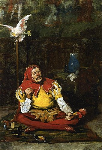 Das Museum Outlet - The King 's Jester, 1875, gespannte Leinwand Galerie verpackt. 29,7 x 41,9 cm -