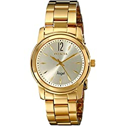 Invicta 17420 38mm Gold Steel Bracelet & Case flame fusion Women's Watch