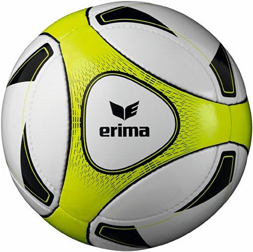erima Bälle Allround Futsal Senior, Weiß/Neon Gelb, 4, 719432