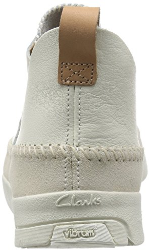Clarks Originals Trigenic Flex, Sneakers Basses Homme Blanc (White)