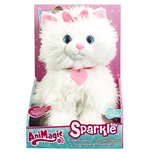 Animagic - Gatito Sparkle, peluche interactivo (30970)