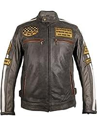 5078f50a00db Suchergebnis auf Amazon.de für  Retro Lederjacken  Bekleidung