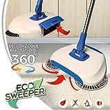 Eco Sweeper la Scopa Rotante Senza Fili che Cattura e trattiene Sporco immagine