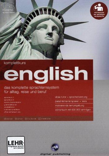 Komplettkurs English Version 13. Windows 7/Vista/XP/2000: Das komplette Sprachlernsystem für Alltag, Reise und Beruf. Niveau A1/B2