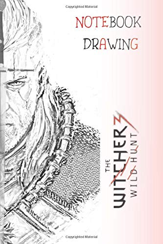 The Witcher Notebook: Journal for writing and drawing (110 Pages, Blank, 6 x 9)