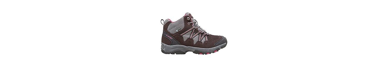 Gris Y Marrón Hi-Tec Womens Florencia Mediados Andando Botas Calzado De Zapatos Al Aire Libre, Gris, 40 -