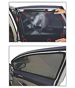 Yasona Car Window Magnetic Sunshade With Keyring for Hyundai EON Era Plus Option (Petrol)