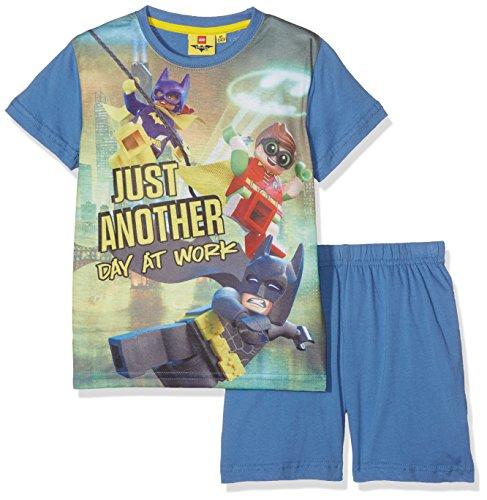 LEGO Batman Jungen 79233 Zweiteiliger Schlafanzug, Blau Bleu, 6 Jahre (Jungen Batman-schlafanzug Für)