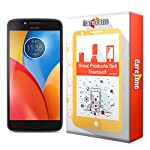 CareFone Moto E4 Plus tempered glass screen protector - ultra durable anti-shatter & anti-scratch and HD optical transmittance. Maximum touch responsiveness with excellent defensive performance. It owns super high transmittance and high restoring...