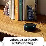 Das neue Echo Dot (3. Gen.) Intelligenter Lautsprecher mit Alexa, Anthrazit Stoff - 3