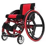 Chair-CL Sports De Loisirs en Fauteuil Roulant Pliant Portatif en Alliage D'aluminium Ultra-léger