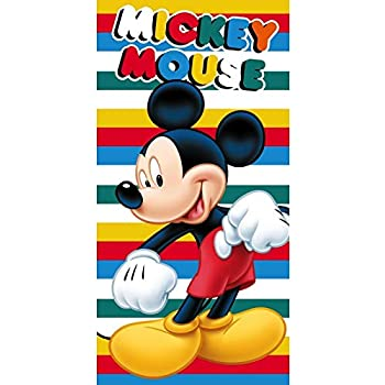 Microfibre Beach Towel Code- 50289 Size- 70 x 140 cm Star  Disney Minnie Art