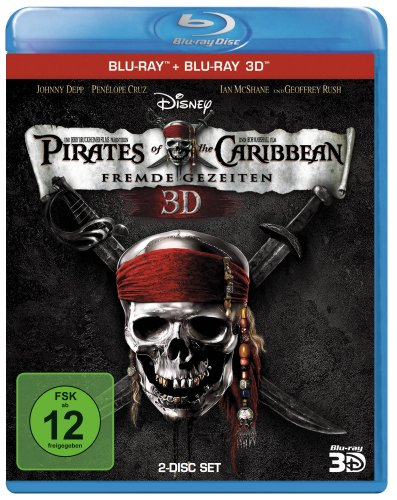 Pirates of the Caribbean - Fremde Gezeiten (+ Blu-ray 3D) [Blu-ray]