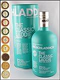Bruichladdich The Classic Laddie Scotish Barley Whisky Original Umverpackung & 9 DreiMeister Edel Schokoladen in 9 Geschmacksavariationen, kostenloser Versand