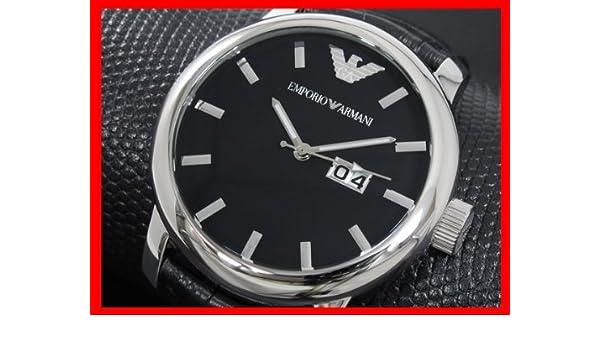 3eaf3ed7264 Emporio Armani Leather Mens Watch AR0428 Wrist Watch (Wristwatch)   Amazon.co.uk  Watches