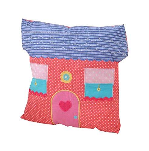 Cartoon Haus Stil Dekorative Kissen Spielzeug Baumwolle Sofa Rückenkissen Dekokissen
