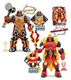 Gormiti Action Figures–Articulated 25cm with Light and Sound, Multicoloured (GIOCHI PREZIOSI grm03000), Assorted models, 1 units
