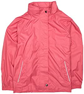 Regatta Girl's Packaway Water Proof Jacket - Tulip Pink, Size 20