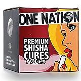 One NATION   10 kg   Charbon de Charbon naturel à chicha en noix de coco - 1,5-2...