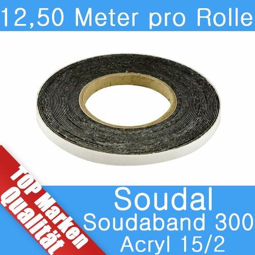 Soudal Soudaband Acryl 300 Abdichtband 12,5m Rolle 15/2