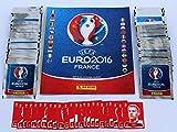 Panini UEFA EURO 2016 France - 100 Tüten Sticker + Leeralbum + Set Coca Cola