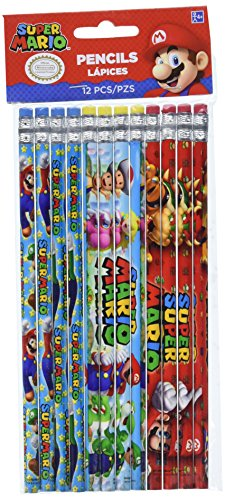 amscan 396610- Super-Mario-Bleistifte (Super Mario Bleistifte)