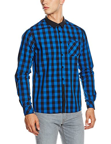 Hope'N Life Naito, Pull Homme Multicolore (Black/ Blue)