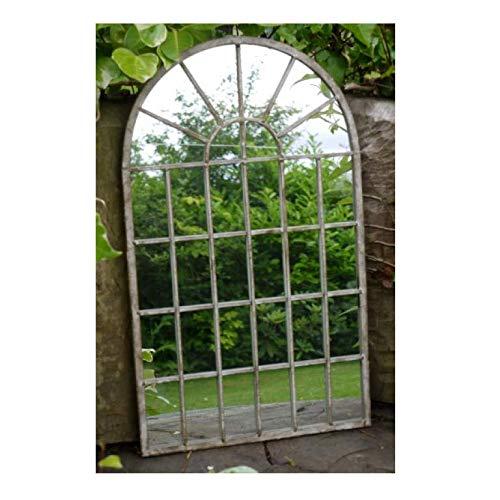 Desconocido Espejo de jardín de Metal con diseño gótico y...
