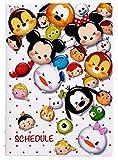 2016 schedule notebook B6 TSUM TSUM (Tsumutsumu) Disney characters New