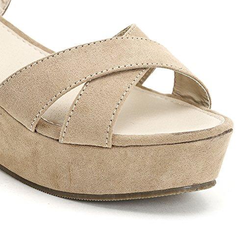 Obsel Beige Scarpe Amp;scarpe Donna Shakespeare Fgnxbz Zeppe 518x6qaExw