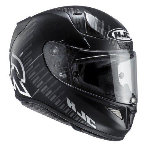 HJC Motorradhelm RPHA 11 Epik Trip MC5SF, Schwarz/Weiß, Größe L