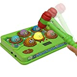 Image for board game Tplay Whack A Mole Game Fast Reflexes Wack A Mole Game Language Learning Whac-a-mole Durable Musical Electronic Whac A Mole With Soft Hammer For Kids Toddlers Childs Baby Educational Toys