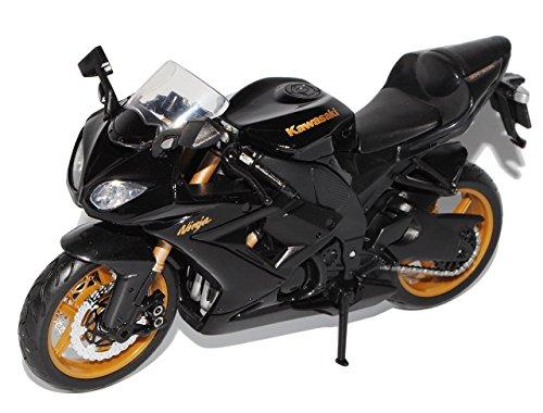 Preisvergleich Produktbild Kawasaki Ninja ZX-10R Schwarz Ab 2008 1/12 Maisto Modell Motorrad Modell Auto