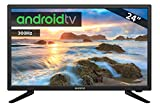 TV LED INFINITON 24š INTV-24 300Hz Android TV - Smart TV - WiFi - HDR USB HDMI