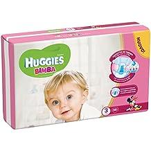 Huggies - Bimba - Pañales - Talla 3 (4 - 9 kg) - 56 pañales