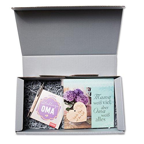 Geschenkbox 'Oma'' für Muttertag, Geburtstag Geschenk Geburtstagsgeschenk