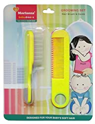 Baby Dreams Hair Brush and Comb (Yellow)