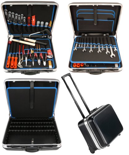 Famex, Set di attrezzi in valigetta con ruote - 606-79