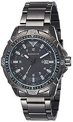 Giordano Analog Black Dial Mens Watch - C1002-22