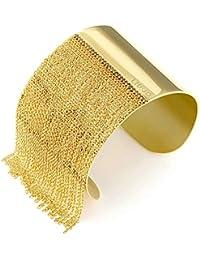 Liu Jo Luxury Bracciale Donna Acciaio Gold Giallo con Catena Rolò 6177b102db0