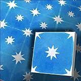 1 m² bunte blaue orientalische Fliesen Zementfliesen Motiv Fliesendekor Stern 1616 Fliesenspiegel