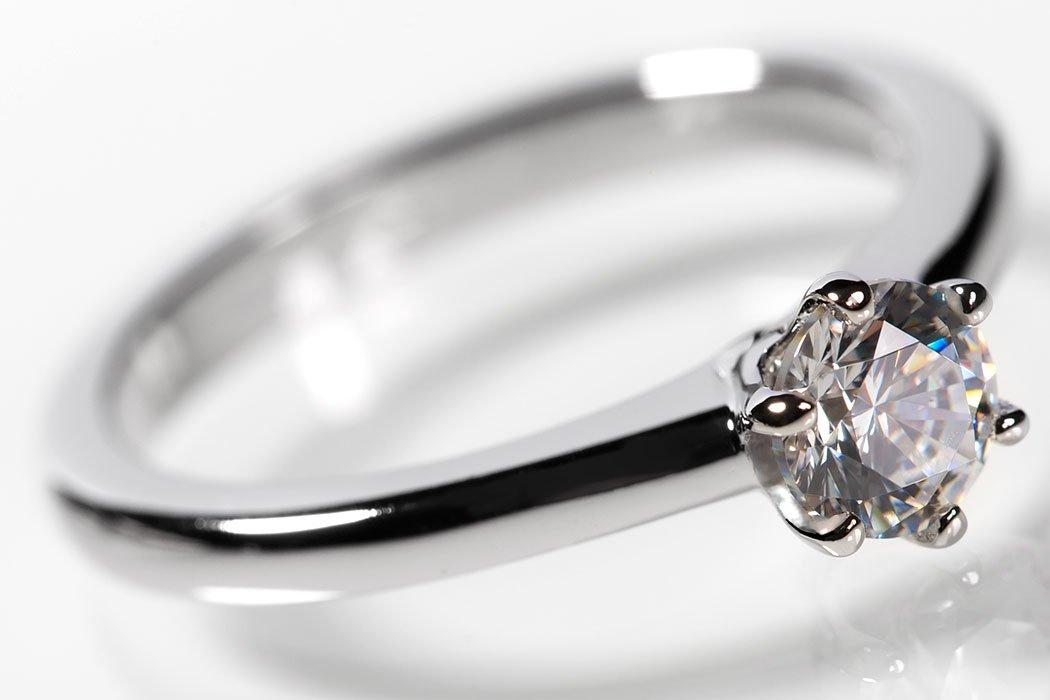 Lars Benz Luxus Ringe Verlobungsring Mit Swarovski Zirkonia Stein 0
